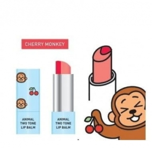 SKIN79 Animal Two-Tone Balsam do ust - Cherry Monkey