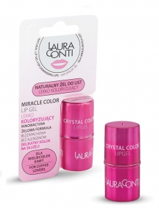 Laura Conti Miracle Color Lip Gel - Koloryzujący naturalny żel do ust