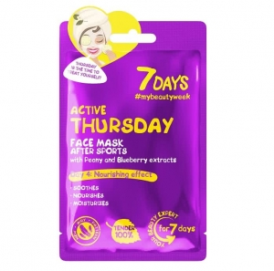 7DAYS Active Thursday - Ujędrniajaca Maska w płachcie 28 g