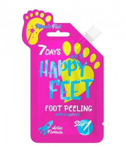 7DAYS Happy Feet Regenerujący peeling do stóp z grejfrutem 25 g
