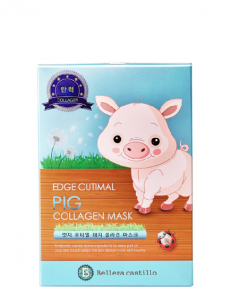 Belleza Castillo Ujędrniająca maseczka, Edge Cutimal Pig Collagen Mask