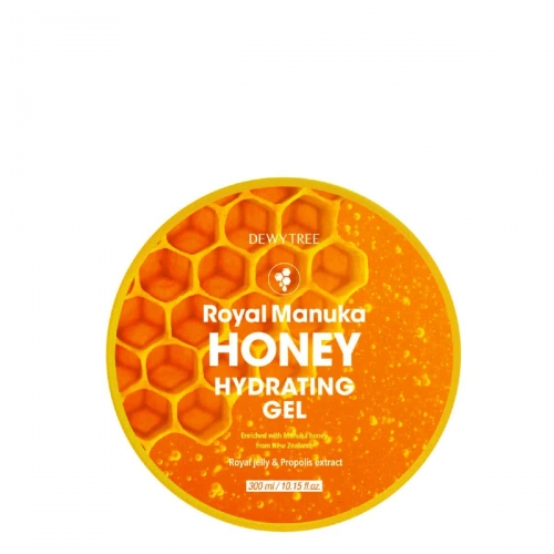 DEWYTREE ROYAL MANUKA HONEY HYDRATING GEL - miodowy żel nawilżający 300ml