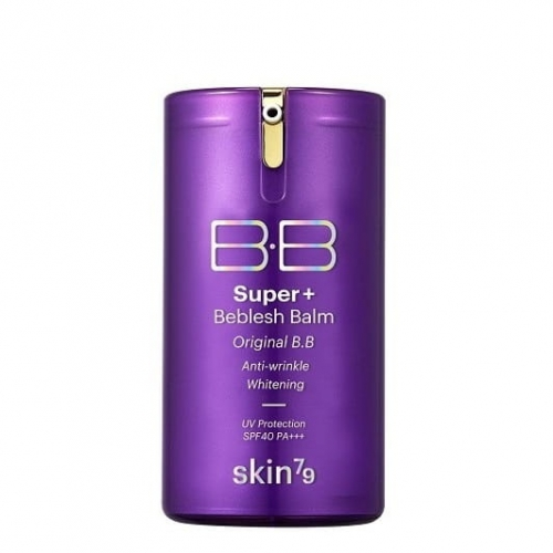 SKIN79 Krem BB Super+ Beblesh Balm Purple SPF40+PA+++