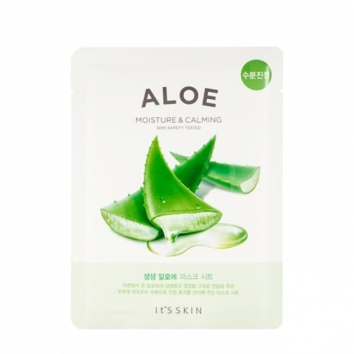 IT'S SKIN Łagodząca Maska do Twarzy, The Fresh Mask Sheet Aloe